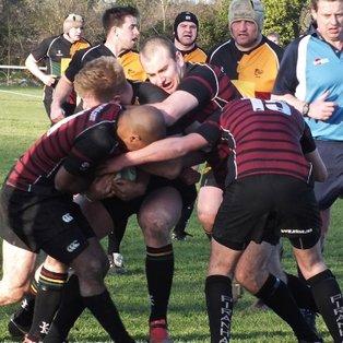 Aylesbury battle hard but lose match