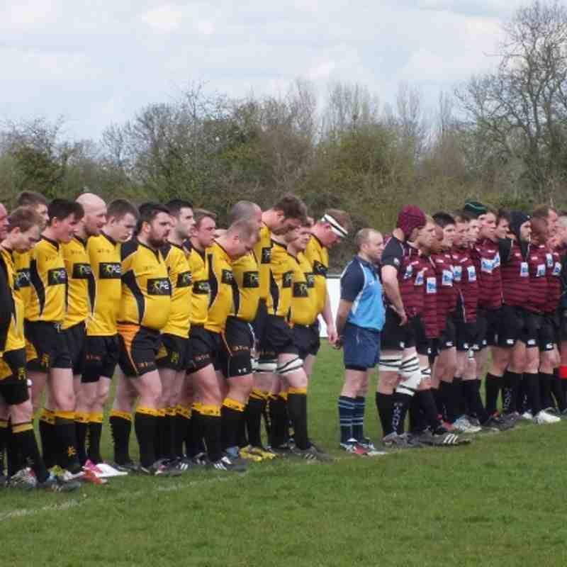 1st XV v Tadley 14th April 2012