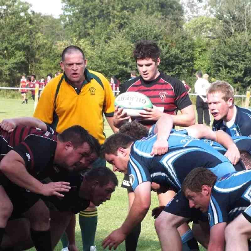 1st XV vs Alchester 15th Sept 2012