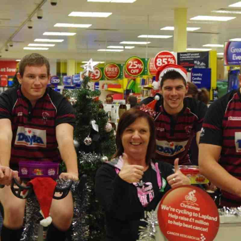 Charity Bike Ride to Lapland