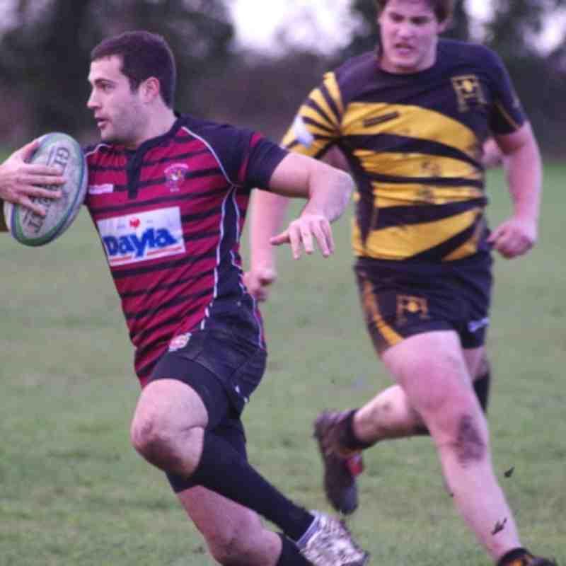 1st XV v Tadley 15th Dec 2012