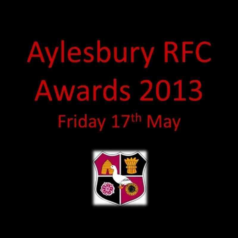 Annual Club Dinner & Awards 2013