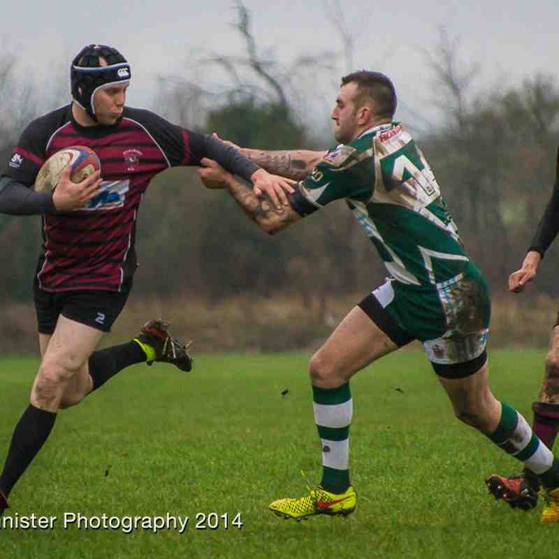 3rd XV v Slough II 6th Jan 2015