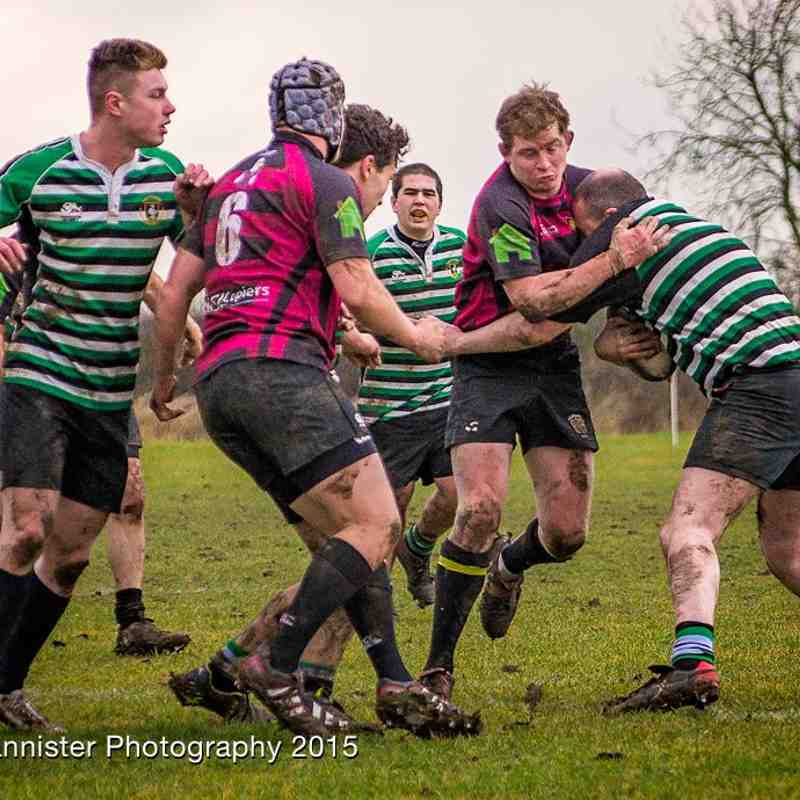 3rd XV v High Wycombe IV 14/2/15