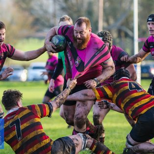 Ay's overwhelm Bicester with a bonus point win
