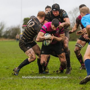 Ay's win battle in the mud against Marlow