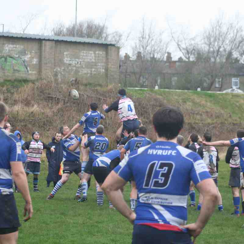 2nd XV @ Halifax 18 March 2017