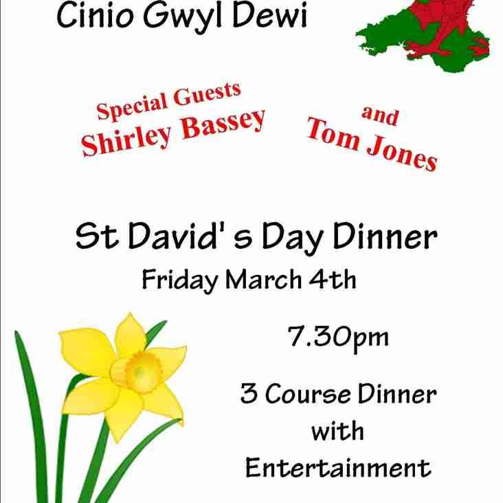 St David's Day Dinner