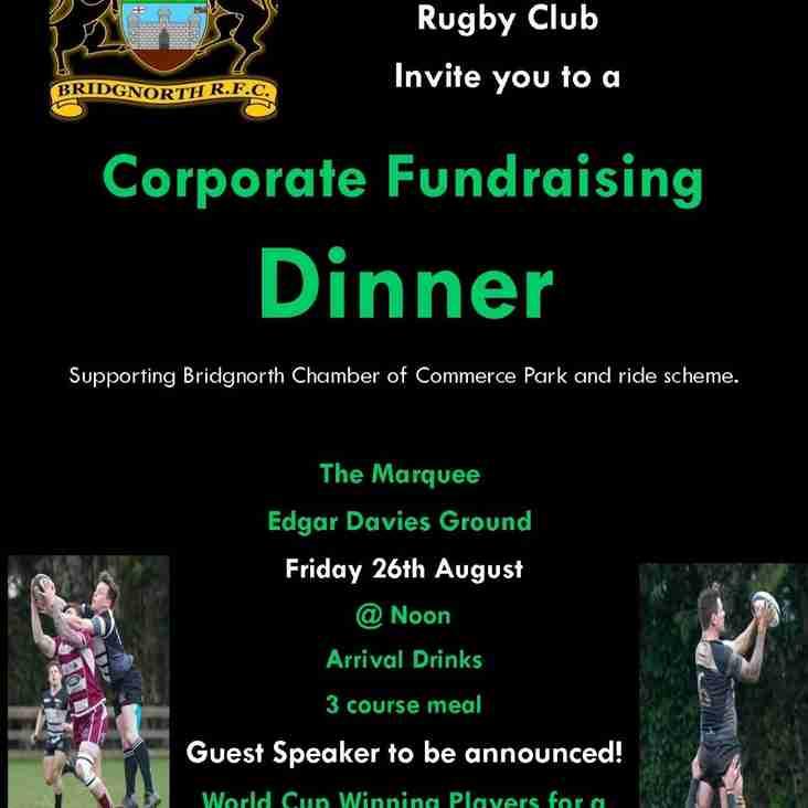 Corporate Fundraising Dinner