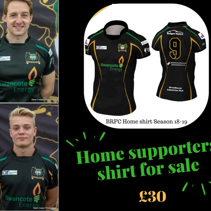 BRFC Supporters shirt for Sale!