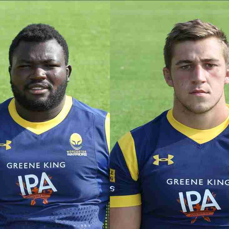 Worcester Warriors players coming to BRFC!