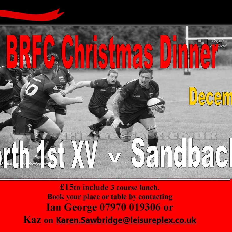 BRFC Christmas Lunch