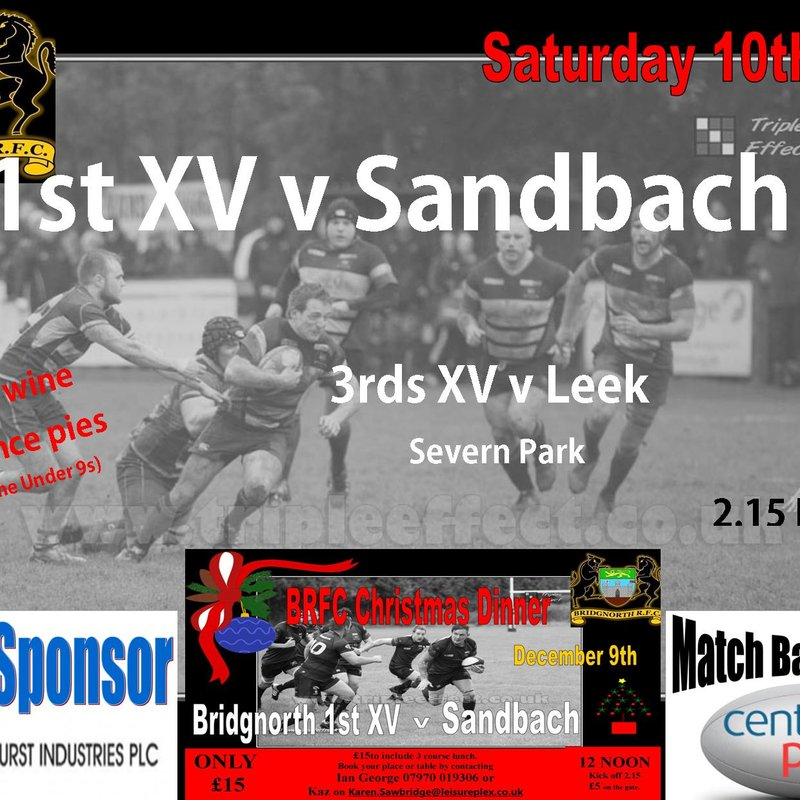 10th December Rugby Action