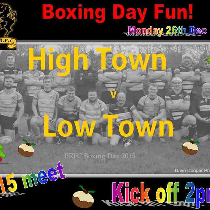Boxing Day Fun at the club
