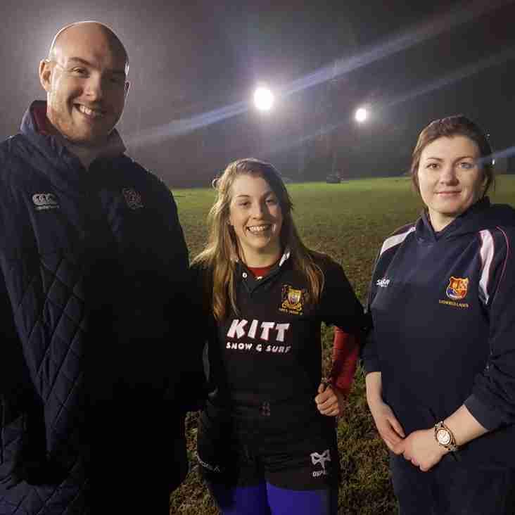 Women secure an ex premiership coach.