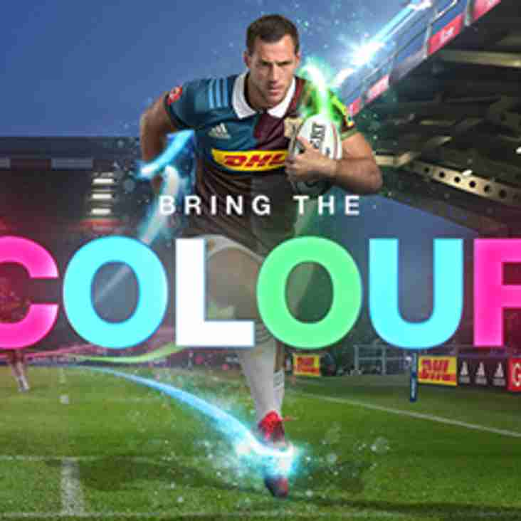 4 Tickets for Harlequins v Leicester available.