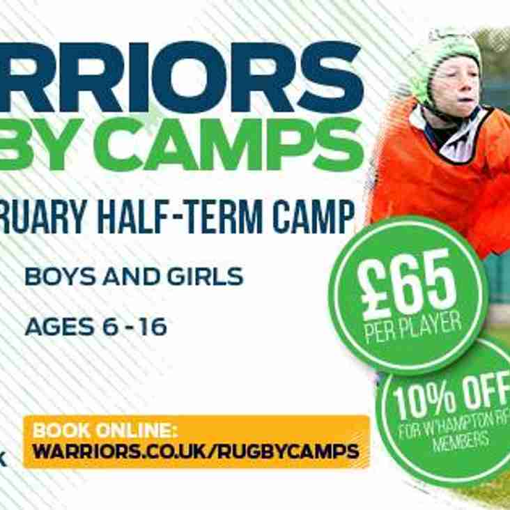Warriors Rugby Camp at Wolverhampton RFC