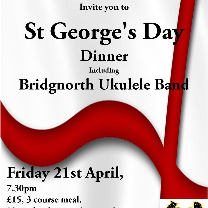 St George's day Dinner