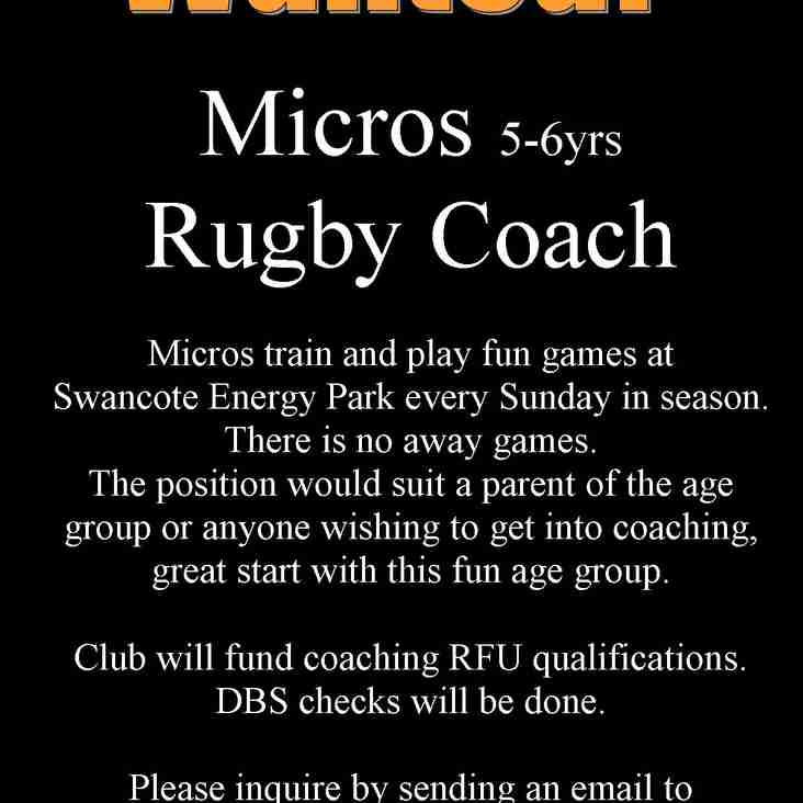 Micros Coach Wanted