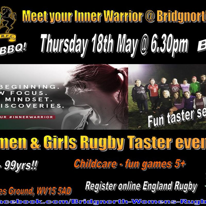 Calling all Girls and Women - This Thursday!