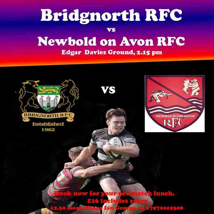 This Saturday's Rugby action!
