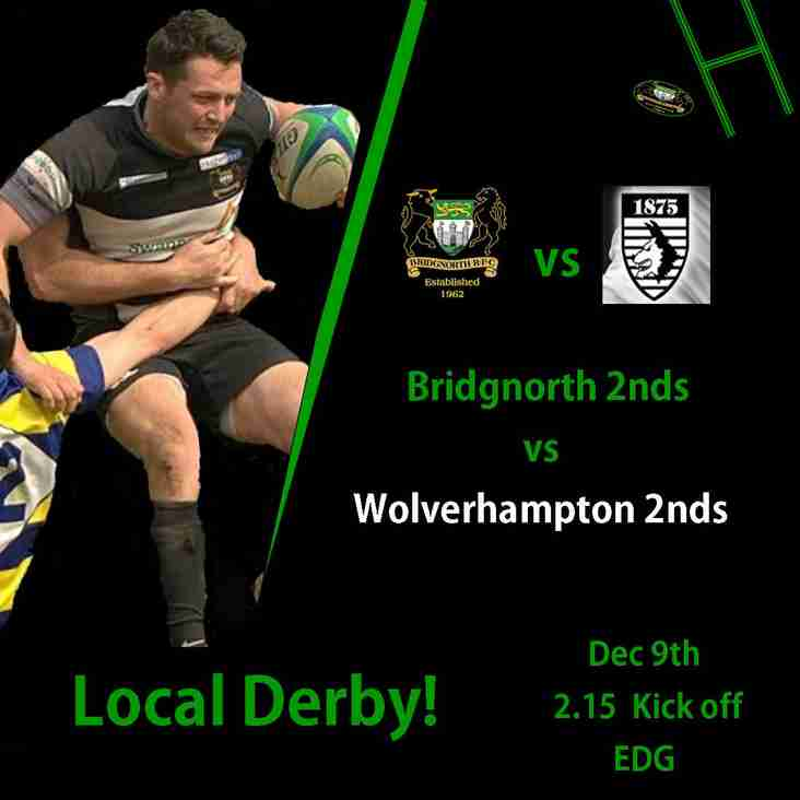 Undefeated 2nds face a home local derby, this Saturday!