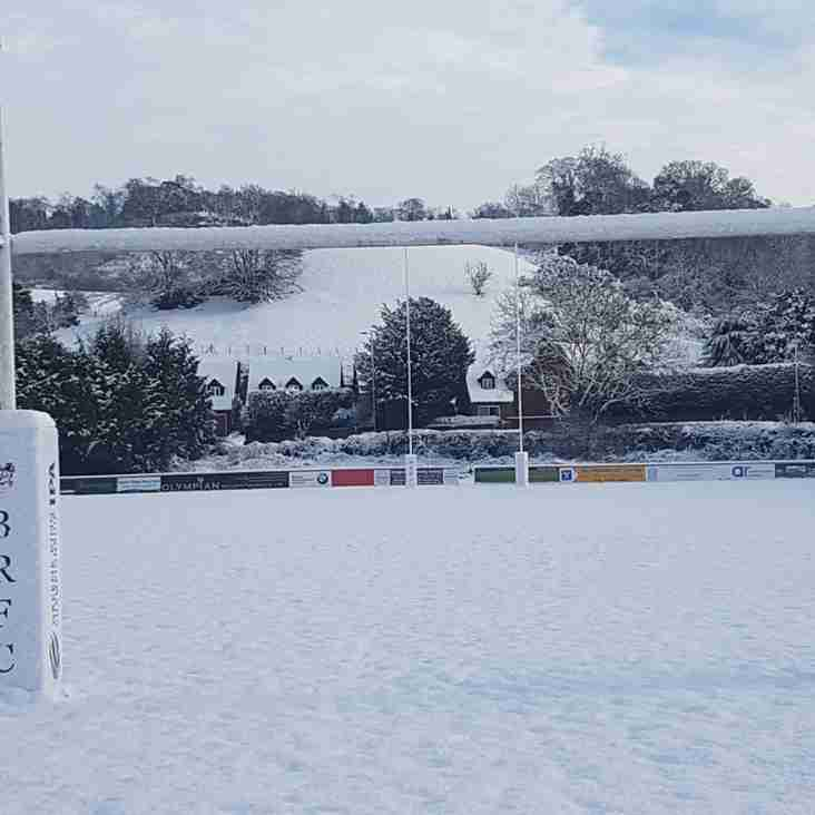 No rugby for Mini and Juniors or Women this Sunday.