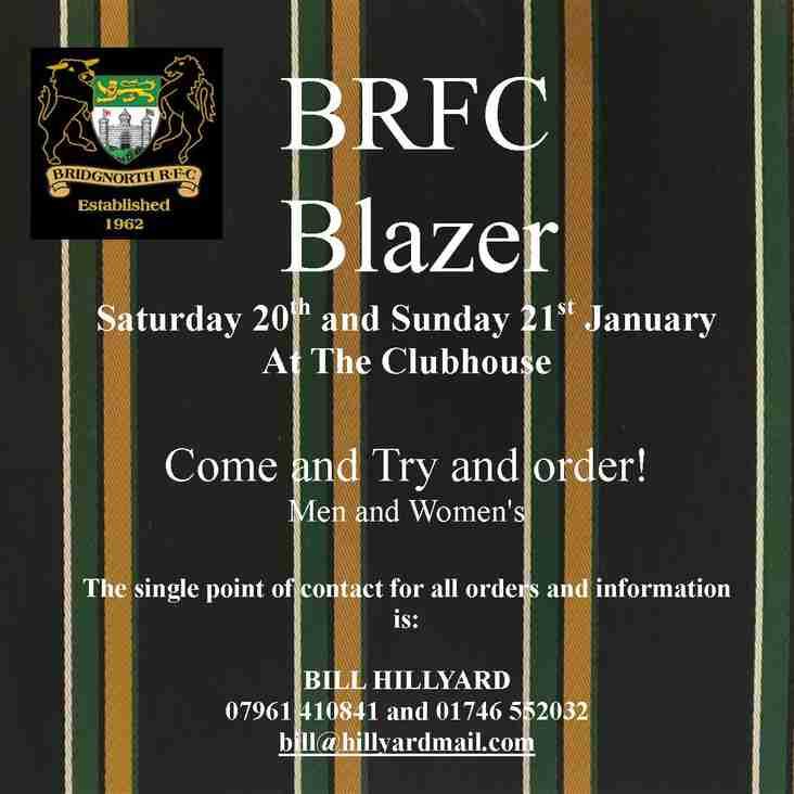 NEW CLUB BLAZER