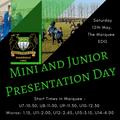 Mini and Junior Awards Presentation Day