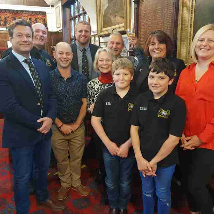 Success for the Mini and Juniors in the Mayors Junior Sports Fund