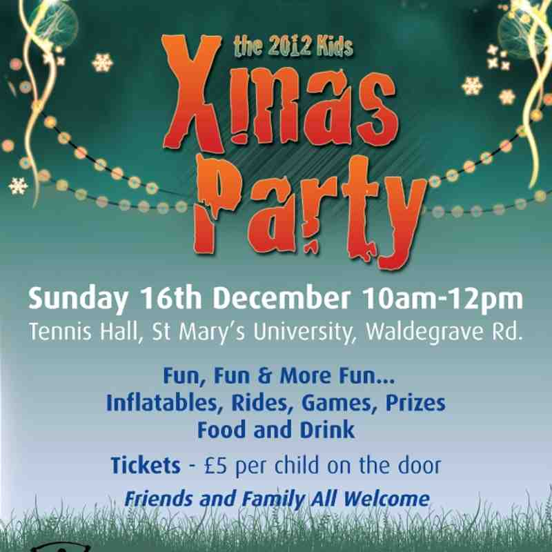 Xmas Party 2012 Invite