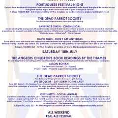 The Anglers Summer Festival - This Weekend...
