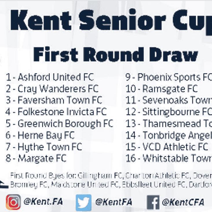 Kent Senior Cup - First Round