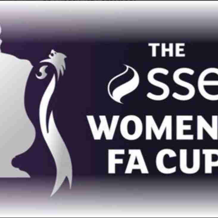 The SSE Womens FA Cup Draw - First Round Qualifying