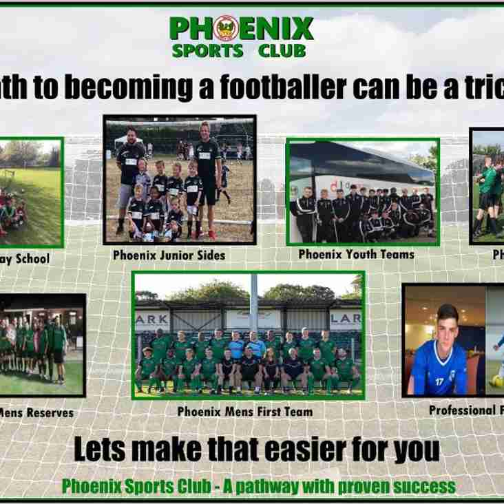 Phoenix Sports - Kent Football's Best Pathway