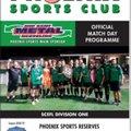 Phoenix Sports Reserves v Holmesdale