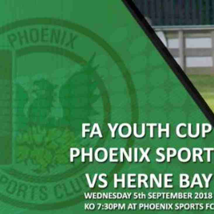 Phoenix Sports 6-0 Herne Bay - FA Youth Cup