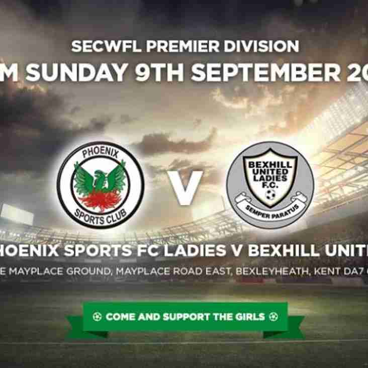 Phoenix Sports Ladies 4-1 Bexhill United