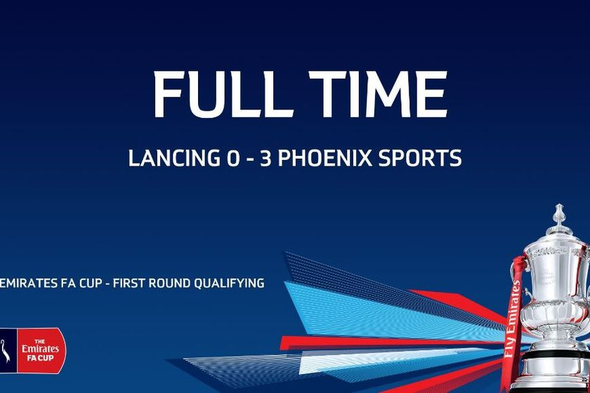 Lancing FC 0-3 Phoenix Sports