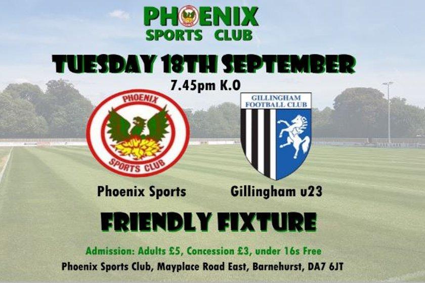 Phoenix Sports v Gillingham - OFF!