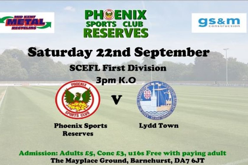 Phoenix Sports Res v Lydd Town