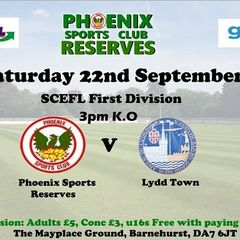 Phoenix Sports Res. V Lydd Town