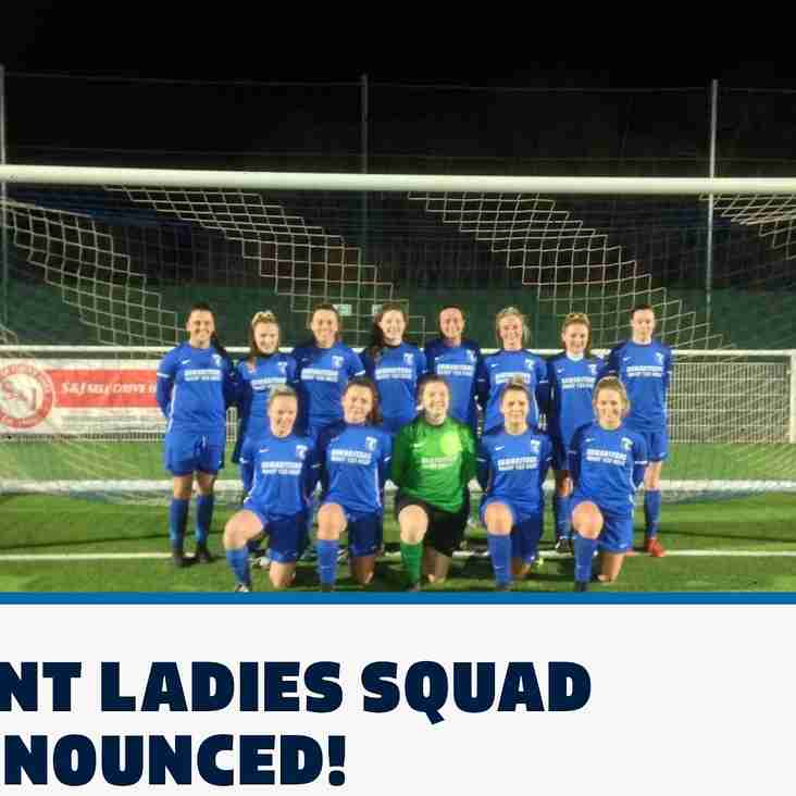Phoenix girls selected for Kent FA Team