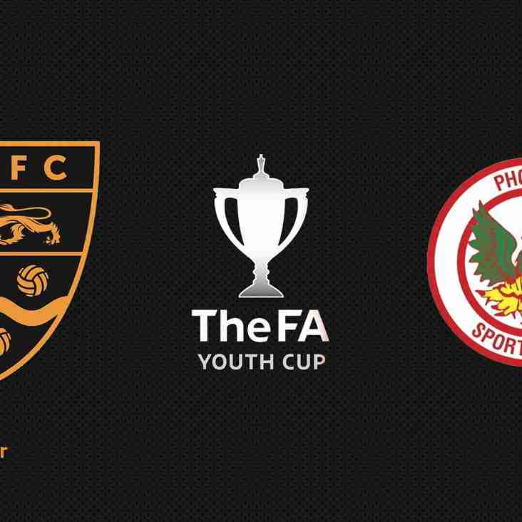Maidstone United 1-2 Phoenix Sports - FA Youth Cup