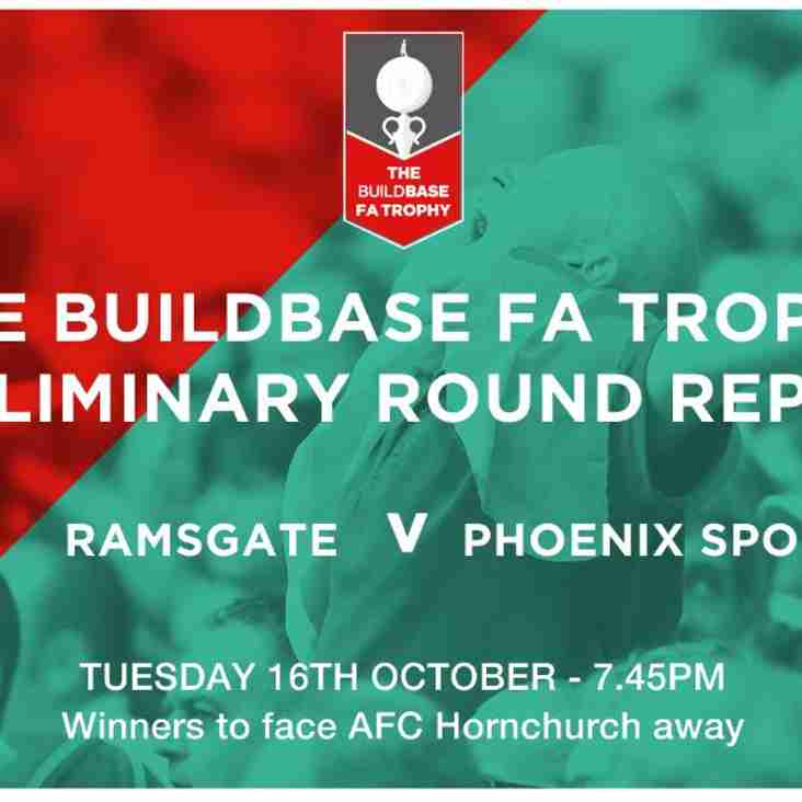 Ramsgate 1-0 Phoenix Sports