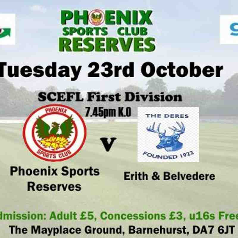Phoenix Sports Res. v Erith & Belvedere