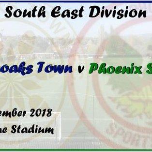 Sevenoaks Town 1-2 Phoenix Sports
