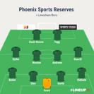 Lewisham Borough 1-2 Phoenix Sports Res.