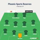 Phoenix Sports Res. 2-1 Meridian VP