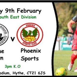 Hythe Town 5-1 Phoenix Sports
